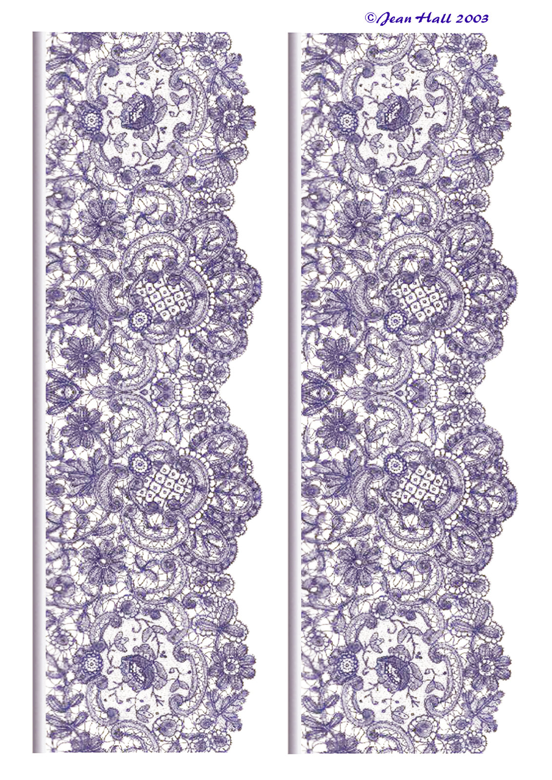 lace border drawing - photo #41