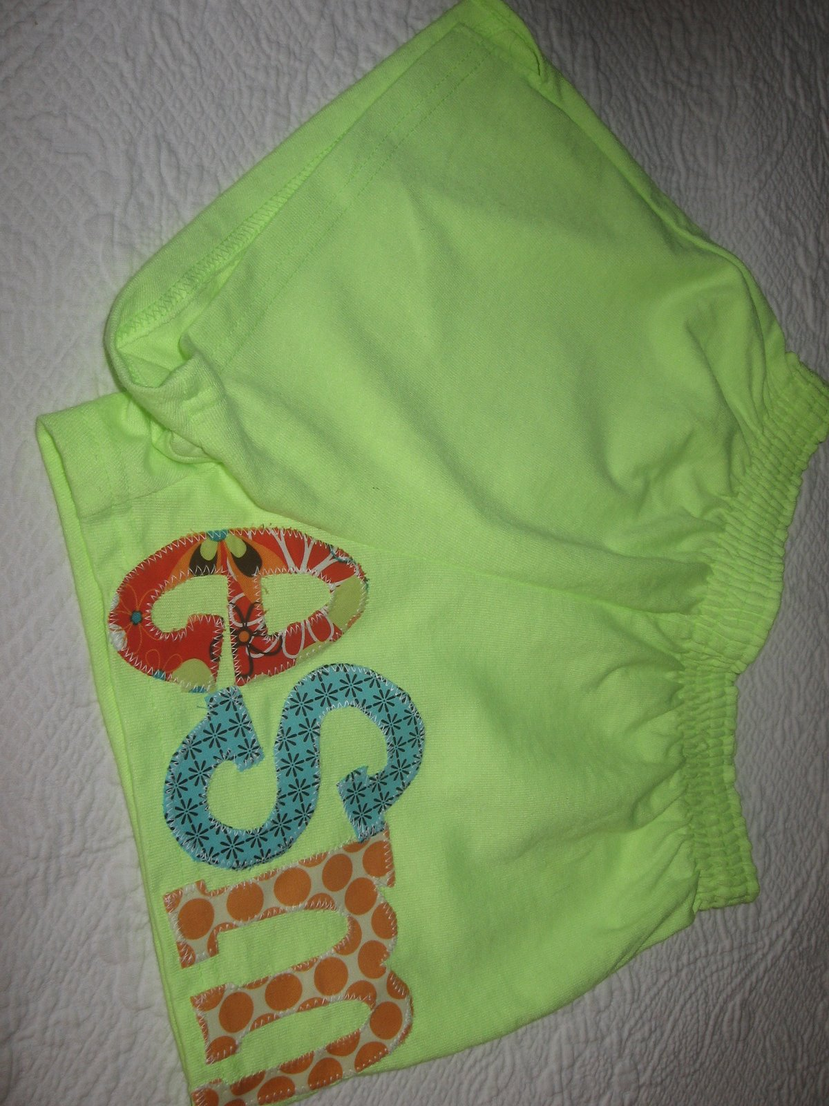 girl's knit short