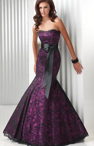 39da74e90d164 straplez balık etekli vakko gece elbiseleri,2011-2012 model vakko bayan straplez  nişan elbise modelleri