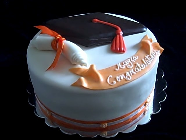 Special Day Cakes Fondant Graduation Cakes Designs