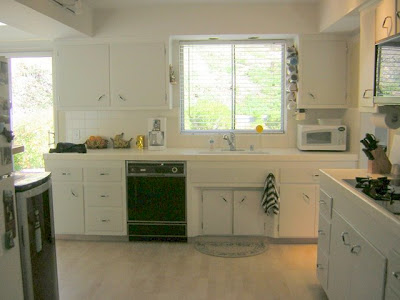 kitchen and make it look smaller.