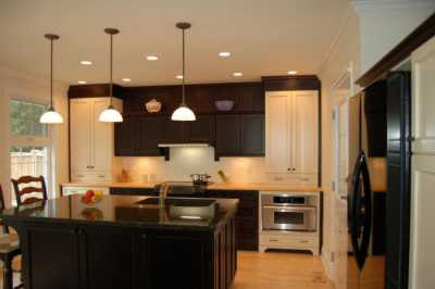 Black Kitchen Cabinets Pictures on This Kitchen Is Beautiful But I Would Have Suggested To The Client