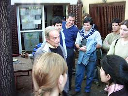 Juan y los alumnos