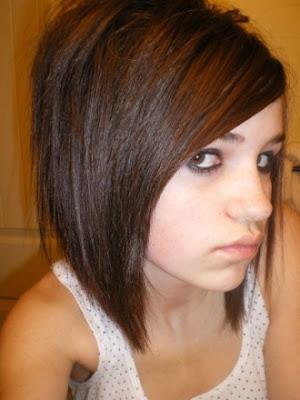 Medium Emo Hairstyles