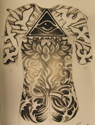 Full Back Tattoos Designs Pictures