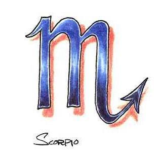 free Scorpio tattoo designs