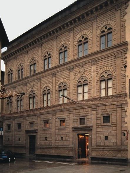 Arte y cultura palacio rucellai for Architecture quattrocento