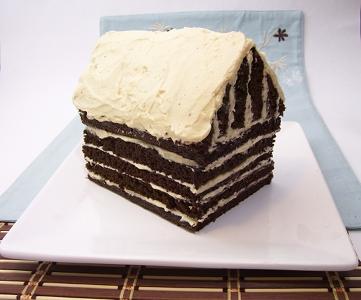 Uy Vegan Christmas Cake