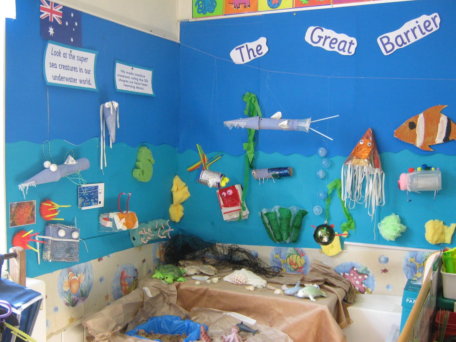 Class Ones Busy International Week on Craft Of The Day Rainbow Fish