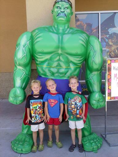 Car Shows Near Me >> Our big happy..: Superhero Craze