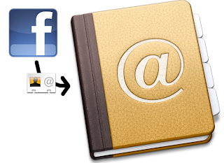 export email ids from facebook