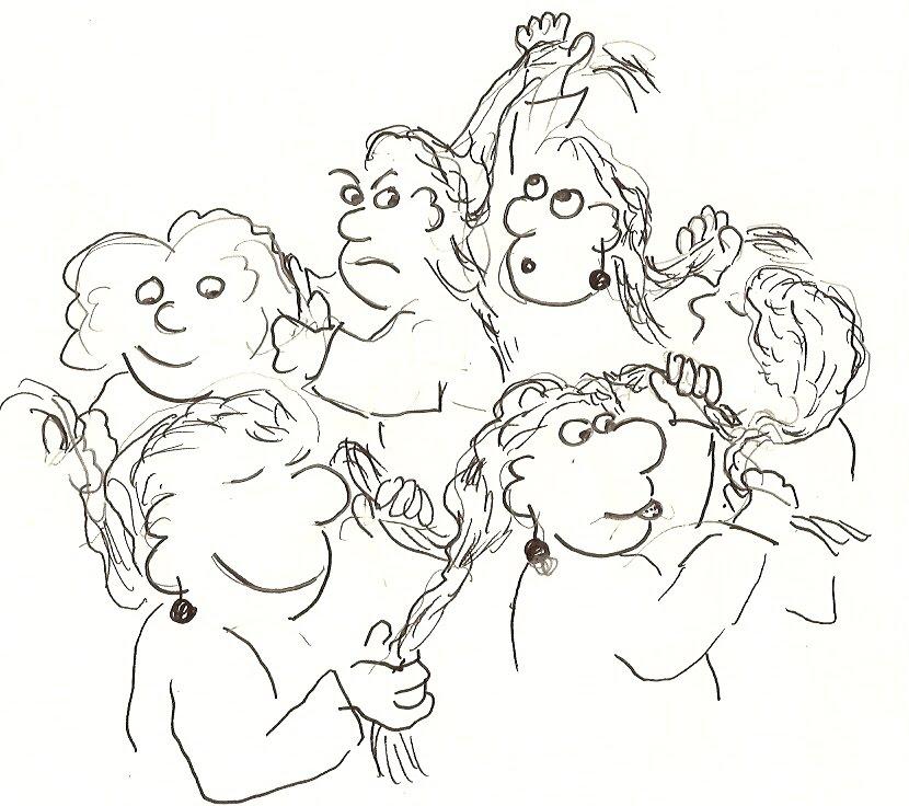 Blig Blug and Friends: Mathematical Braids Form Groups