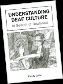 "book cover, ""Understanding Deaf Culture"""
