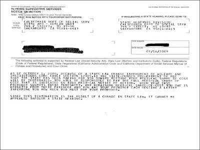 Pushing Limits Radio Letter From IHSS? - sample appeal letter