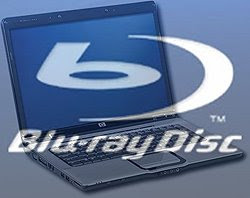 Laptop y Blu-ray
