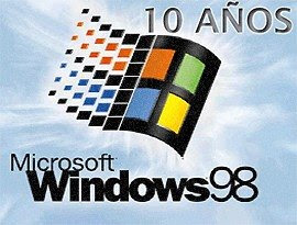 10 años de Windows 98