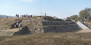 Estructura I del Ixtépete, esquina sureste.