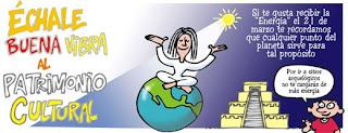 Si te gusta recibir energía, te recordamos que cualquier punto del planeta sirve para tal propósito