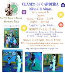 CLASES DE CAPOEIRA NIÑOS & NIÑAS.