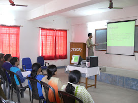 Prof. Alok giving Lectures to the students