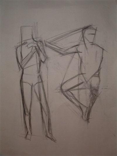Art = Life at R L  Delight Fine Art: Figure Drawing