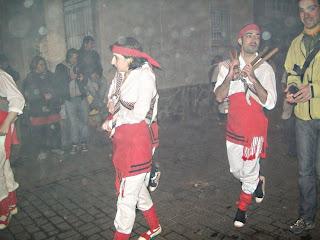 Ball de bastons a Gràcia