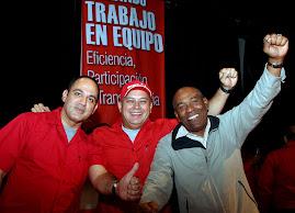 JESSE, DIOSDADO Y ARISTOBULO.