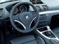 BMW Dash - what do you push for the horn?