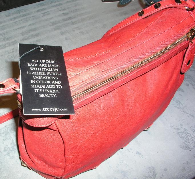Pictured All Treesje Handbags Are Made With Genuine Leather Photo M Hall