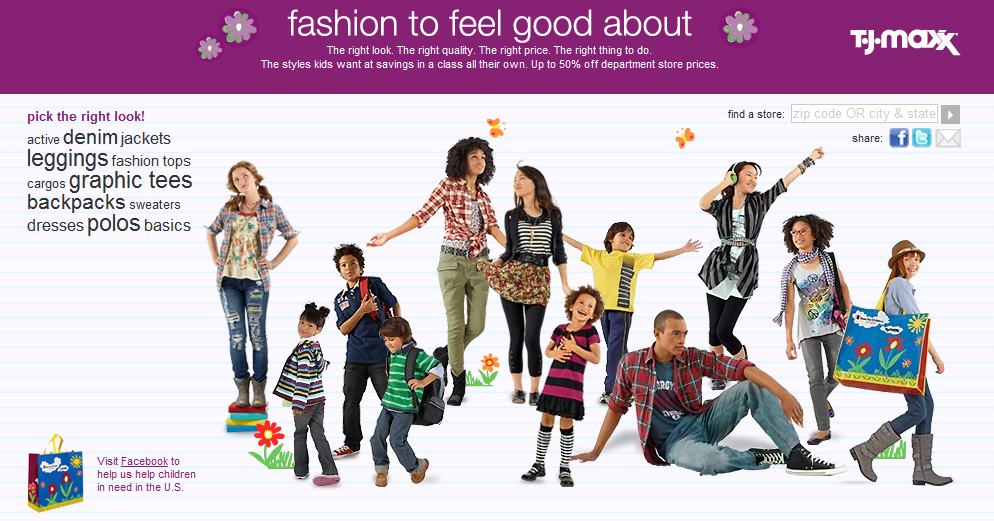 64f07e34e T.J.Maxx and Marshalls are flexing their discount muscles with some serious  back to school savings. They are offering leggings, backpacks. shoes, tees,  ...