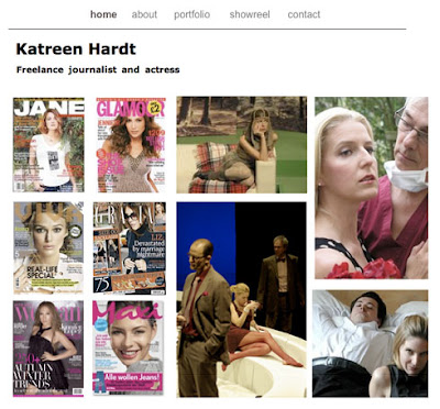 Katreen homepage screenshot
