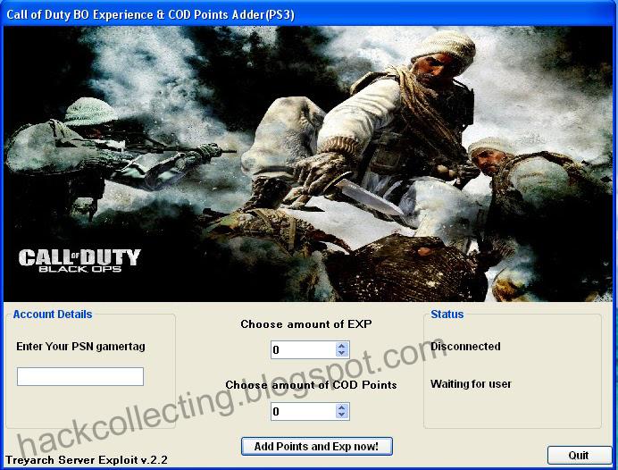 Storage of hacks, cracks and keygens: Call of Duty Black Ops