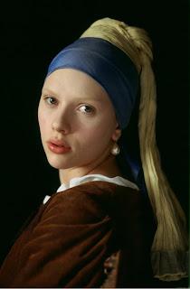 Fata cu cercelul de perla Vermeer