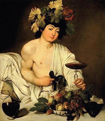 Bacchus, Caravaggio