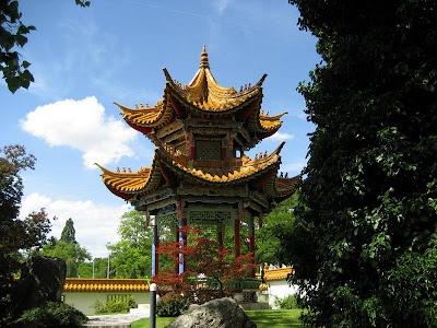 Gradina chinezeasca din Zurich
