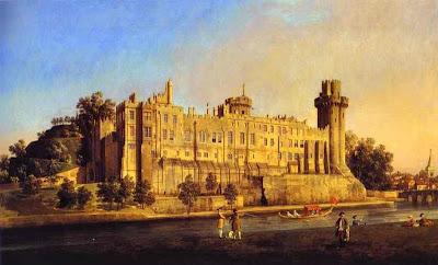 Castelul Warwick de Canaletto(1748)