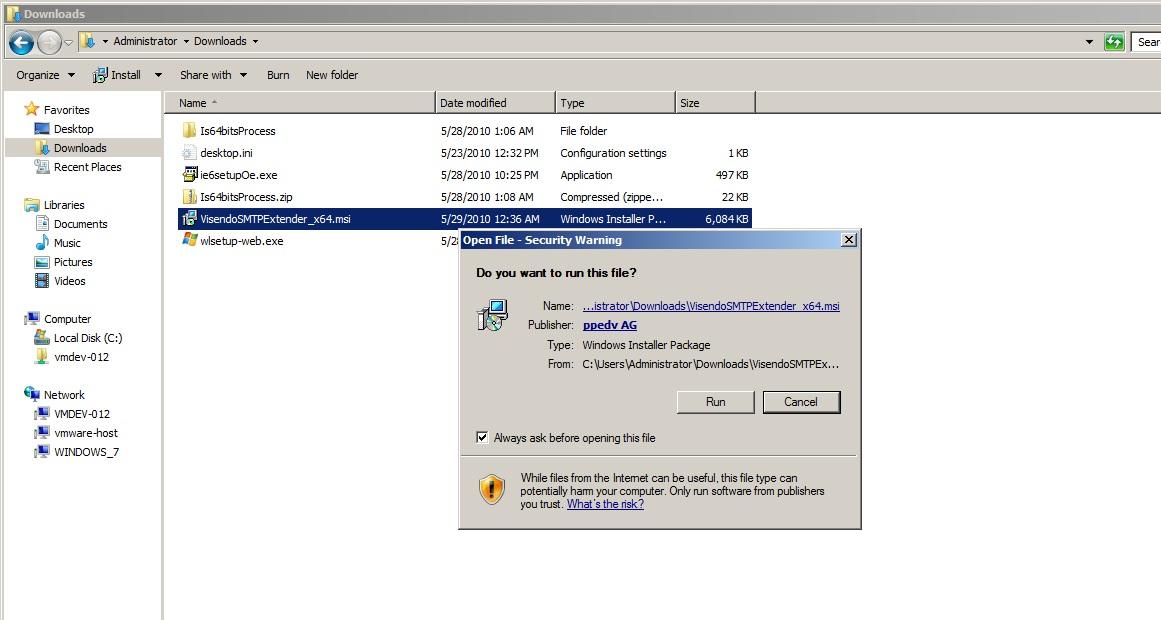 Install Smtp Service Windows 10