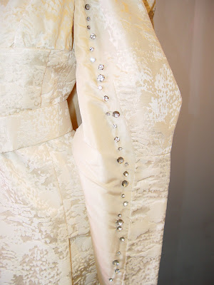 obi sash wedding dress
