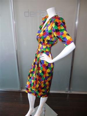 c1fba86221 Emanuel Ungaro parallele multicolor silk day dress