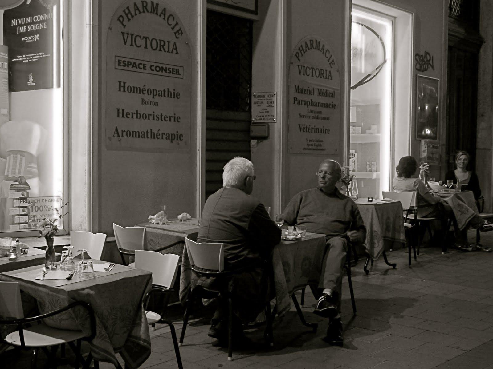 Menton Daily Photo The Pharmacy Restaurant