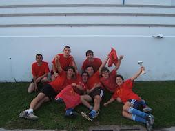 """Vencedores do 1º Torneio de Natal """"Ultras Luso Canalha 2002 """"- Futebol"""