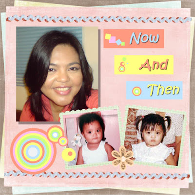 Now and Then Digiscrap