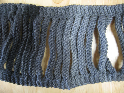 luce scarf, knitting patterns