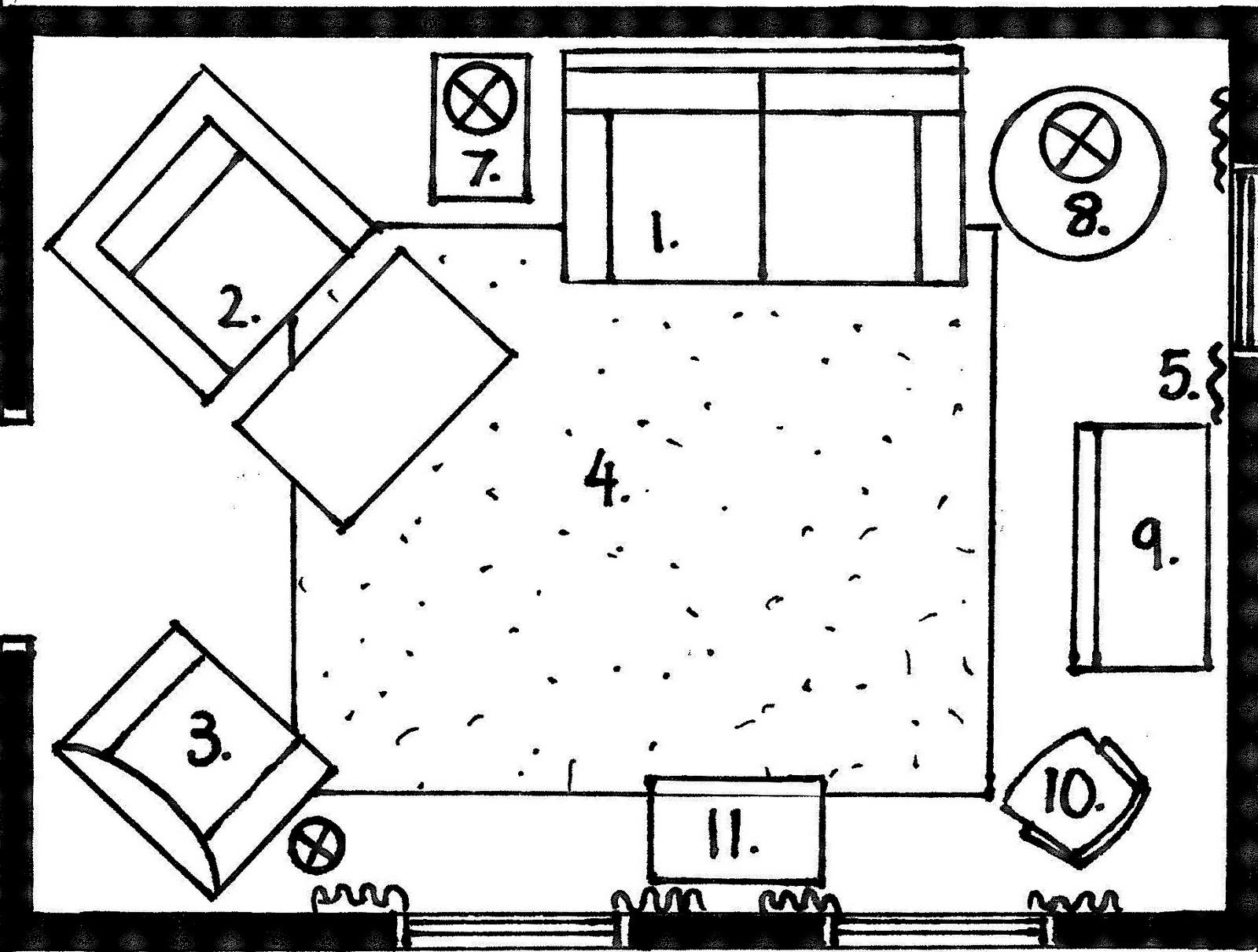 LIVING ROOM FLOOR PLANS  Floor Plans