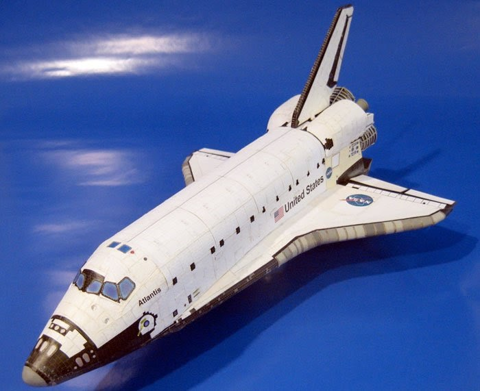 atlantis space shuttle papercraft - photo #13