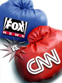 Image result for fox news vs cnn