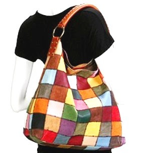 178 Lucky Brand Patchwork Slouchy Shoulder Bag