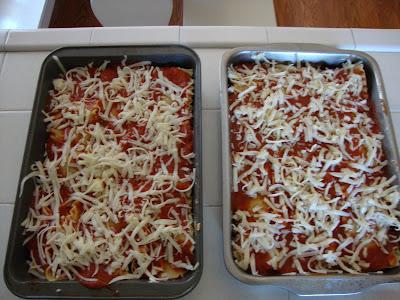 lasagna, make ahead dinners