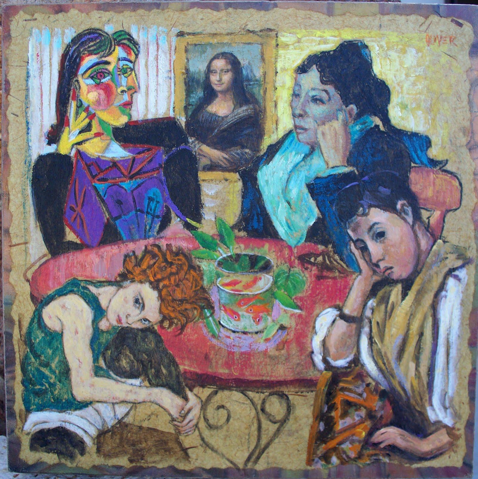 Art Talk - Julie Ford Oliver: Wanna Be World Famous