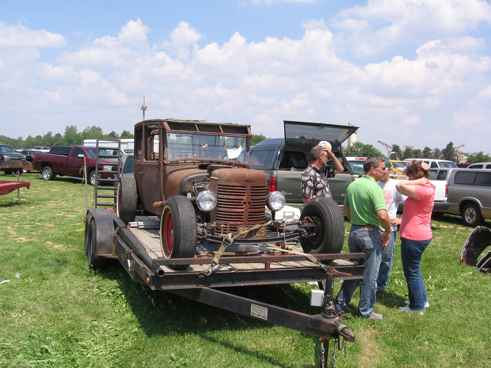 The Automobile and American Life: Rat Rods -- Cars and Parts Swap ...